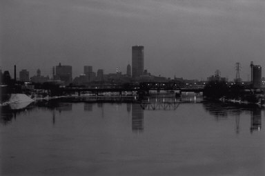 View Along Mississippi River, Minneapolis
