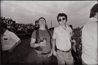 Spectators, Drag Races, New Brighton Drag Strip, Minnesota