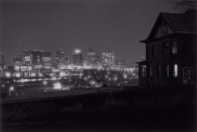 Night Scene, Downtown St. Paul