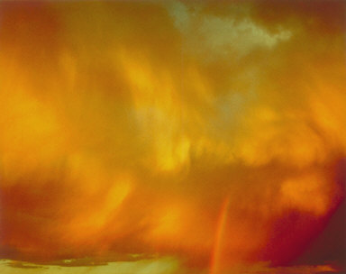 Clouds with Rainbow, Colorado