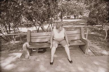Woman, Como Park Zoo, St. Paul, Minnesota