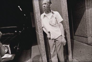 Man on Street, Minneapolis