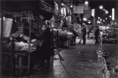 Night Scene, Orchard Street, New York City