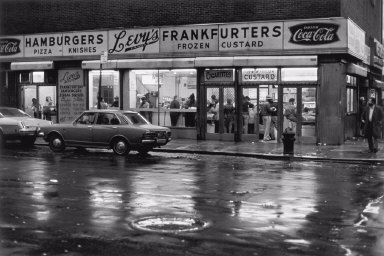 Levy's Frankfurters, Lower East Side, New York City