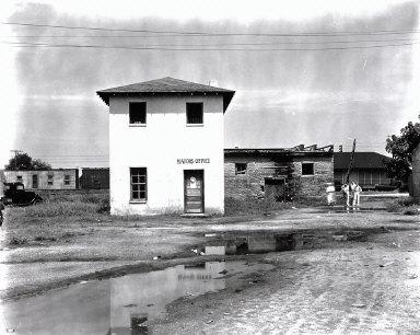 Mayor's Office, Moundville, Alabama