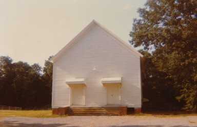 Church Between Greensboro and Marion, Alabama