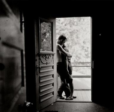 Lovers in a Doorway, Houston, Texas