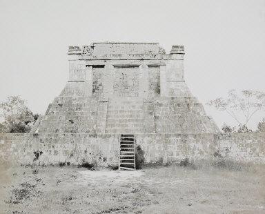 El Conde, Temple near North Group, Palenque, Mexico