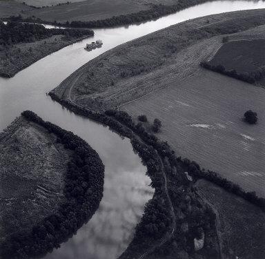 Barge and Ship Canal near Tulsa, Oklahoma