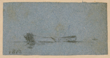 Untitled (Boat in Landscape)