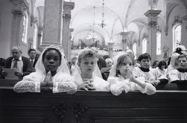 First Communion, St. Agnes Church, Frogtown