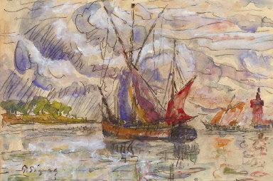 Fishing Boats in La Rochelle