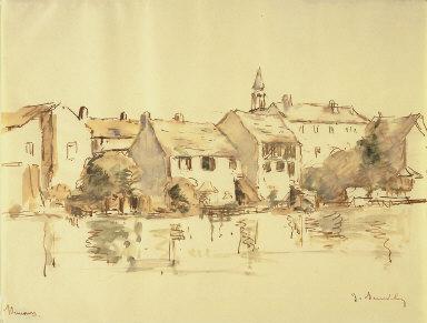 Nemours (S. et Mrne); Along the Canal, Nemours