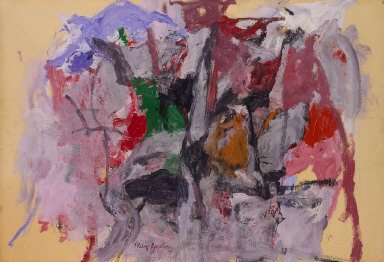 the three distinct phases of the artistic career of american painter guston