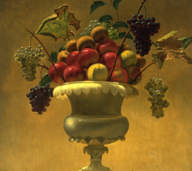 Still-life with Apples and Grapes