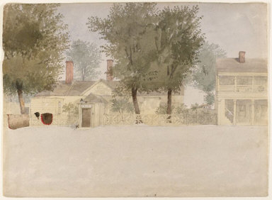 Artillery Park, Halifax - Commissioned Officer's House from the Square