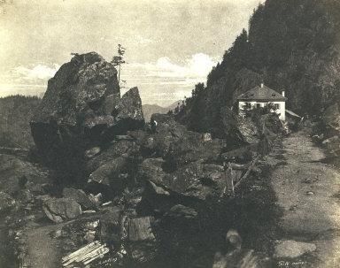 Tête Noire, Paysage des Alpes, Dauphiné