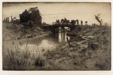 Entering Ypres at Dawn