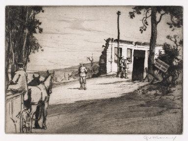 The Barrier, Mont Saint-Éloi