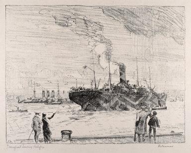 Transport Leaving Halifax