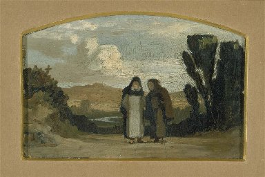 Monks on the Appian Way