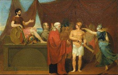 Quarrel of Achilles and Agamemnon