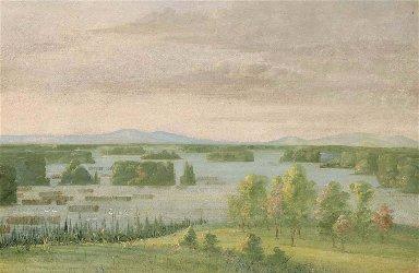 Lac du Cygne (Swan Lake), Near the Coteau des Prairies