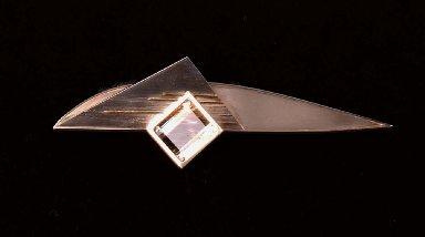Folded Brooch