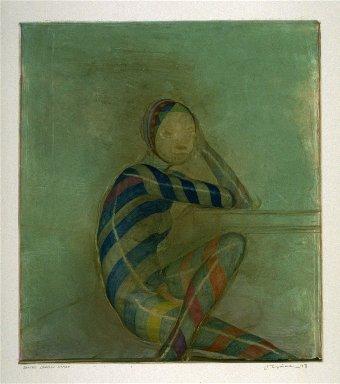Seated Shaman Woman