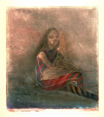 Seated Woman Shaman II