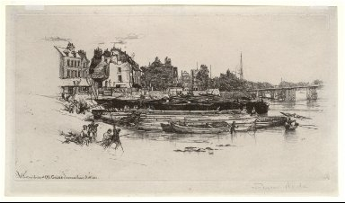Whistler's House at Old Chelsea