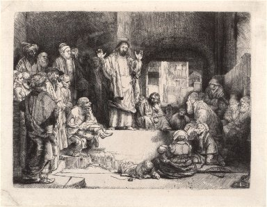 La Petite Tombe (Jesus Christ Preaching)