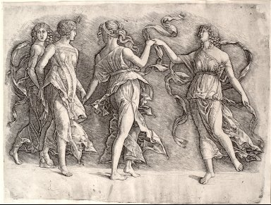 Dance of Four Women (after Mantegna?)