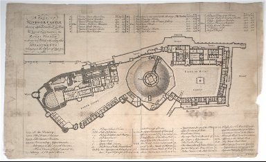 A Plan of Windsor Castle