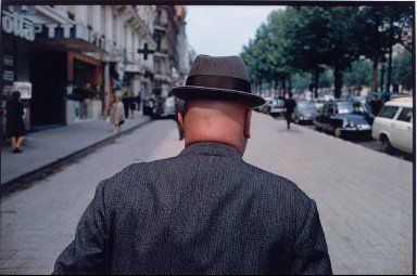 Man on the Champs Elysee from The French Portfolio