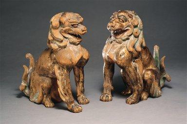 Two Lion-Dogs (Koma-Inu)