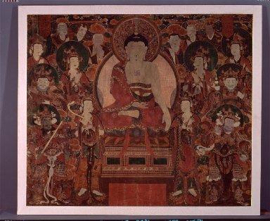 Buddha Shakyamuni Preaching at Vulture Peak