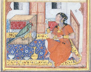 Khujasta and the Parrot