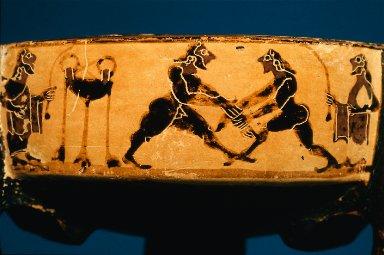 Tripod pyxis (box)