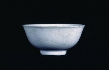White bowl with white slip decoration
