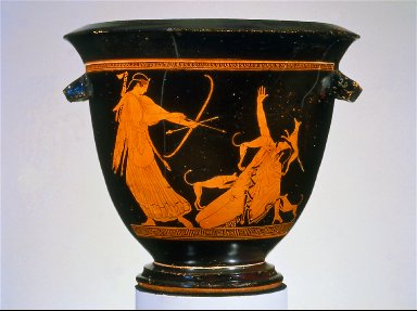 Bell krater (mixing bowl)