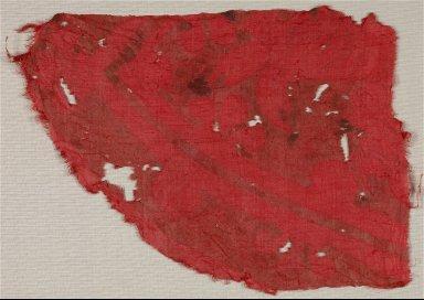 Printed Silk Fragment