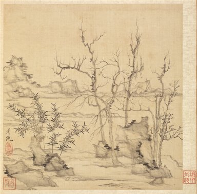 Paintings after Ancient Masters: Landscape in the Style of Ni Tsan
