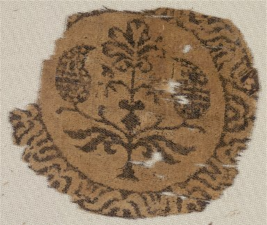 Fragment of a Segmentum with Palmette Tree