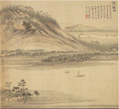 Eighteen Views of Wuxing: Mt. Shenchang