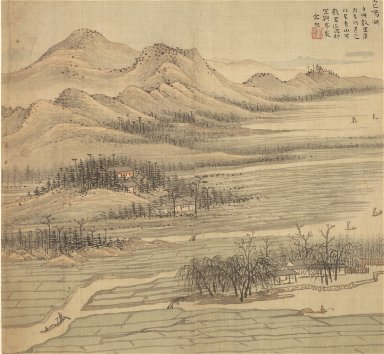 Eighteen Views of Wuxing: Baoyang Lake