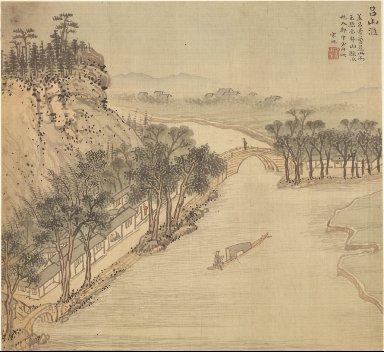 Eighteen Views of Wuxing: The Lüshan Shore
