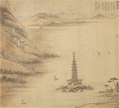 Eighteen Views of Wuxing: Green-wave Lake