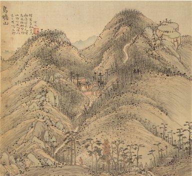 Eighteen Views of Wuxing: Mt. Wuzhan