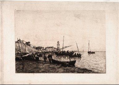 [The Port at San Remo, Port de San Remo]